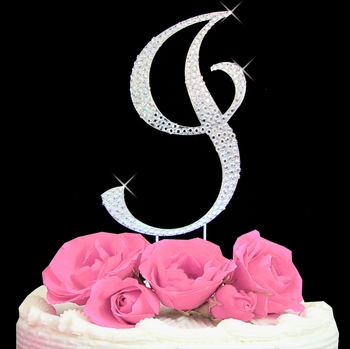Cake Toppers Letters : I In Fancy Letters New Calendar Template Site