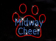midway cheer t-shirt