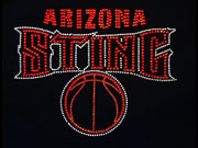 custom sports shirt arizona sting