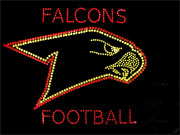 falcons custom sports logo