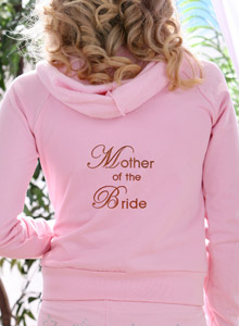 mother of the bride hoodie