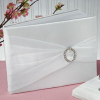 crystal guest book