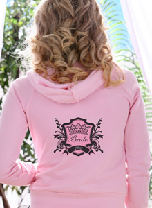 bride crest sweatshirt