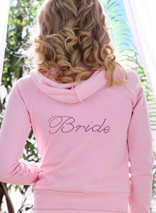 fancy bride sweatshirts