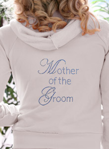 mother of the bride edwardian hoodie