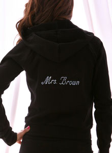 personalized mrs hoodie