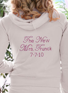 the new mrs hoodie