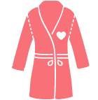 satin robe icon