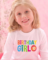 birthday girl colors t-shirt