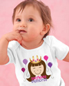 birthday girl princess t-shirt
