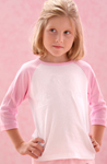 girls raglan t shirt