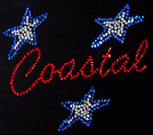 coast team cheerleading tshirts