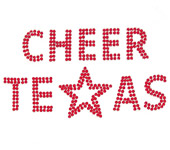 sparkling cheer texas custom shirt