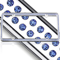 rhinestone license frame 250