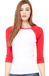 3/4 length raglan shirt