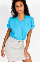 short sleeeve unisex by american apparel