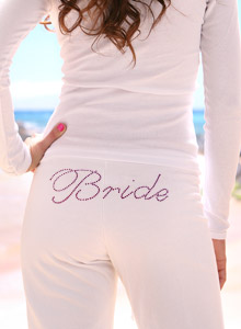 fancy bride sweatpants