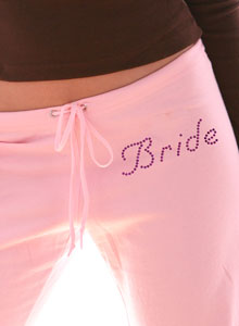 bride sweatpants