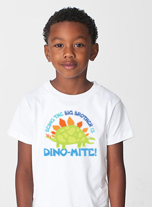 big brother t-shirt with dinosaur