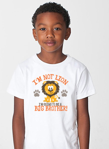 big brother shirt with lion