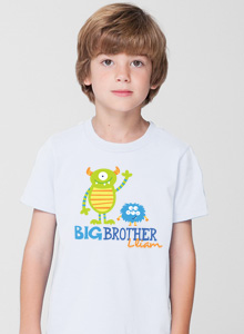 big brother monsters t shirt