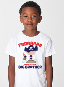 big brother t-shirt with pirate