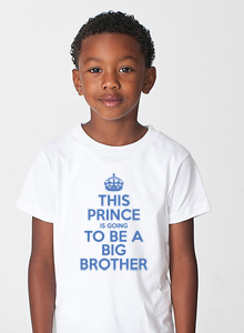 big brother t-shirt with prince