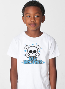 big brother shirt with skull