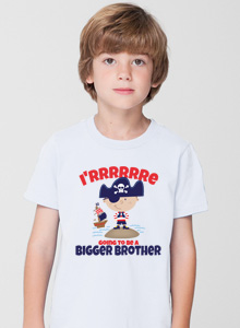 bigger brother t-shirt with pirate