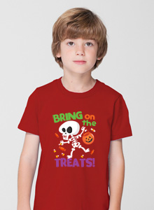 bring on the treats t shirt