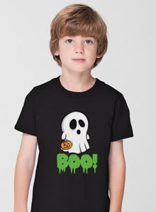 ghost boo t shirt
