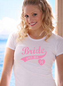 bride 2015 swoosh t shirts