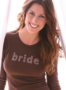 3 row bride shirts
