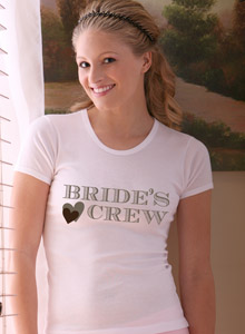heart wedding t-shirt