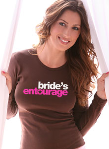 bride entourage t-shirt