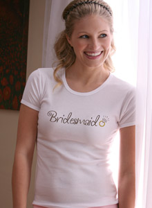 bridesmaid ring shirt