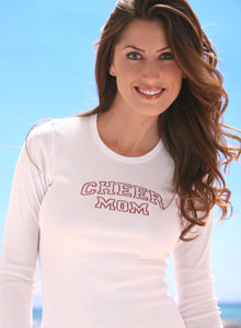 cheer mom t shirt