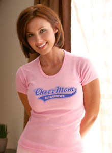 varsity cheer mom t-shirt