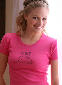 fancy bride t-shirt or tank top