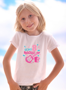 Being Eight Rocks T Shirt