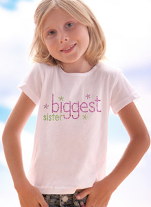 sparkling biggest sister shirts