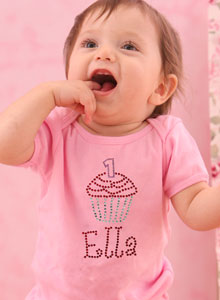 Girls Birthday Cupcake T Shirt