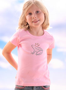 girls frog t shirt