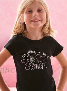 going to be big sister t-shirt