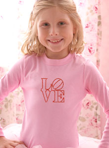 candy love stamp t shirt