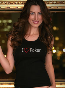 i love poker t-shirt