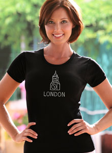 london clock t-shirt