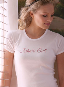 personalized name girl t shirt