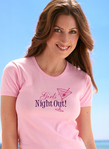 girls night out bachelorette party t-shirt