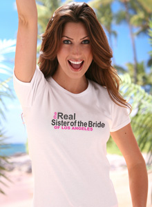real sister of bride t shirt